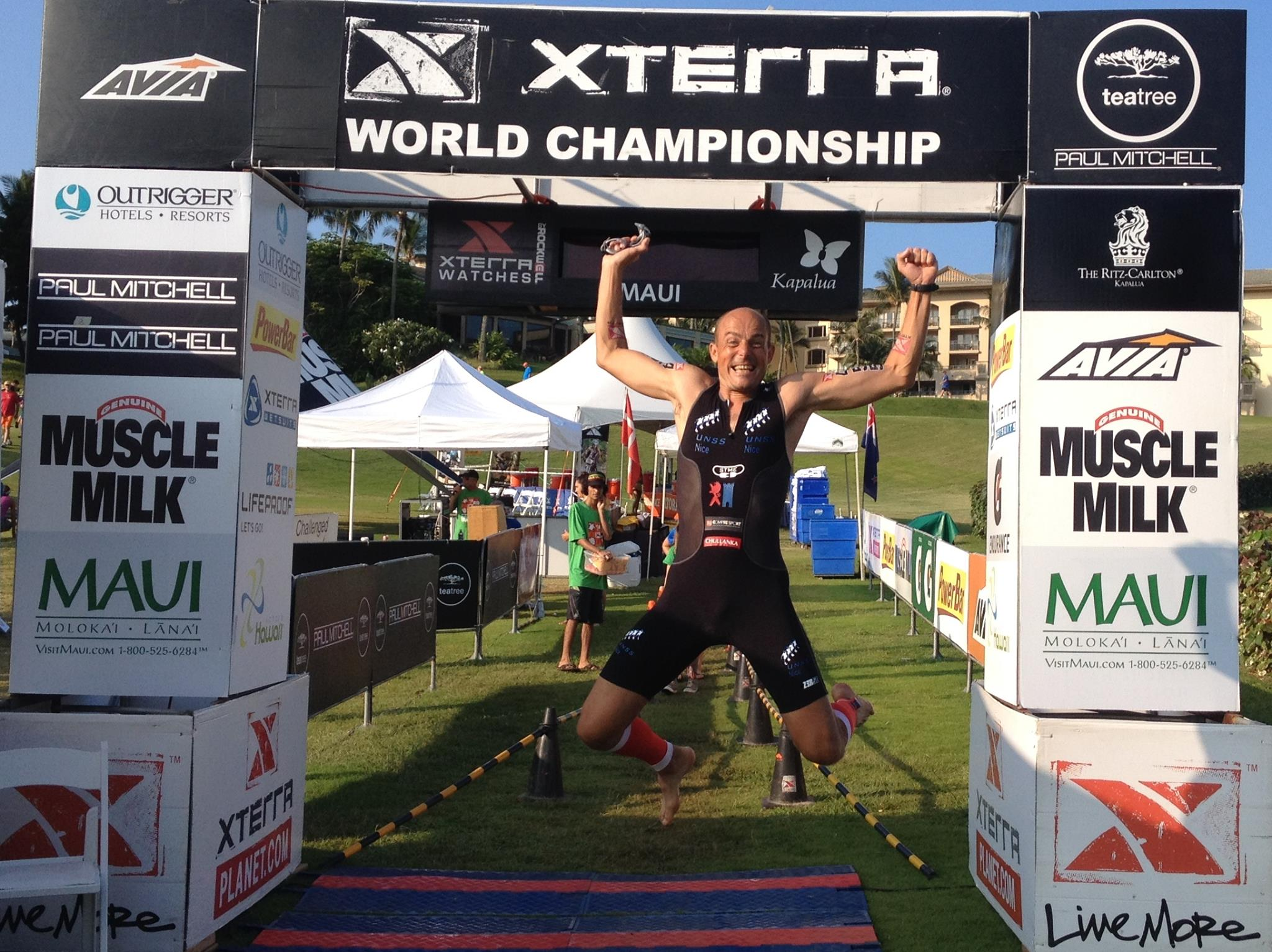Christophe MAURY triathlète XTERRA: VIDEO