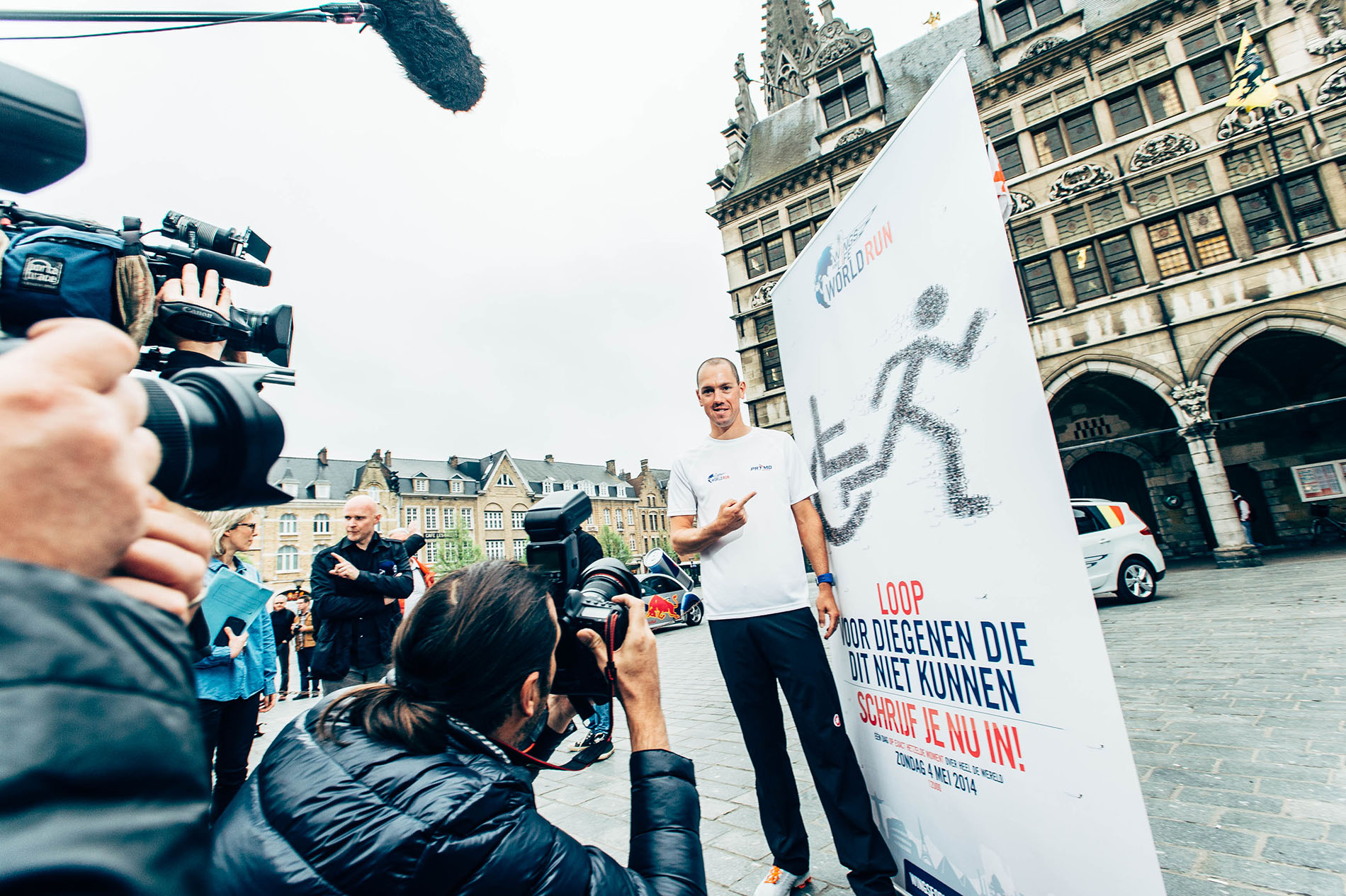 Frederik Van Lierde Ambassadeur Belge pour le « Wings for Life world Run »