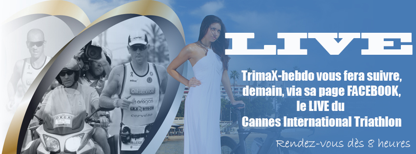Cannes International Triathlon: suivez le LIVE