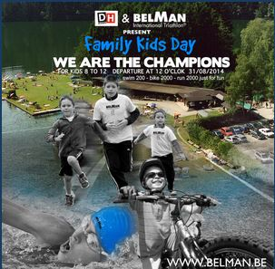 BELMAN Family Kids Day by DH les sports :WE ARE THE CHAMPIONS