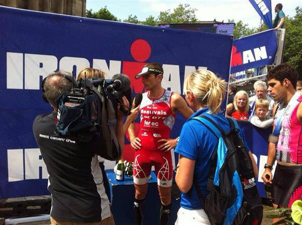 Ironman UK: Victoire de Cyril Viennot !!!