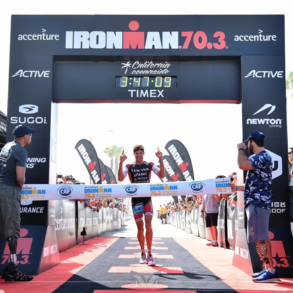 Ironman 70.3 Oceanside: Frodeno intouchable