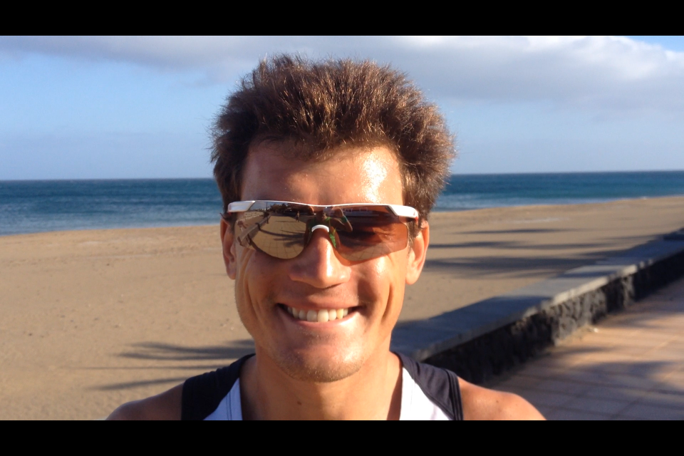 IRONMAN LANZAROTE: Interview impromptue de Romain Guillaume