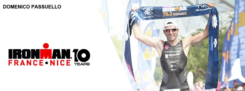 Domenico PASSUELLO sera à l'IRONMAN France Nice – découvrez son interview !