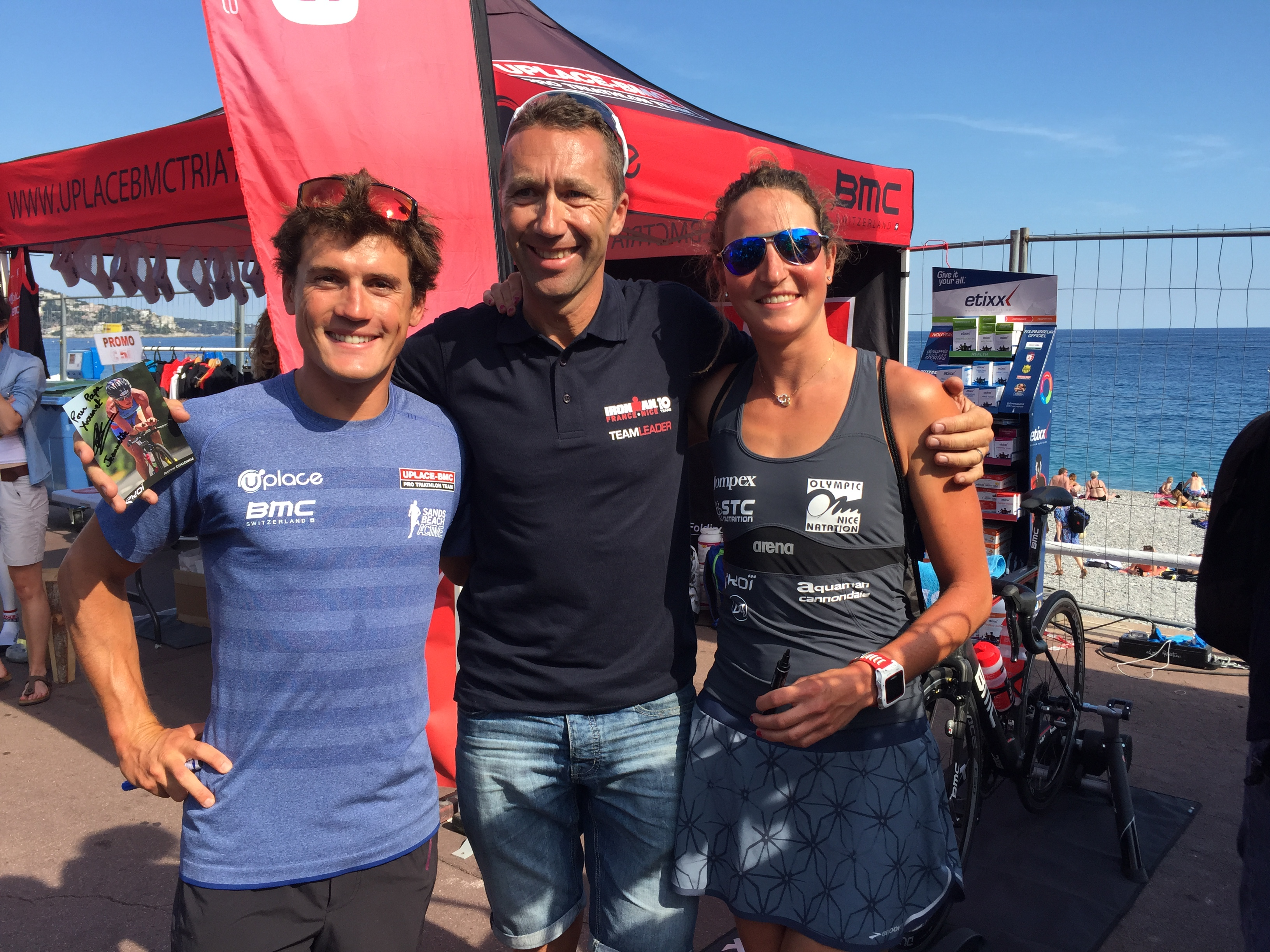 IRONMAN FRANCE NICE 2015: Interview Romain et Jeanne