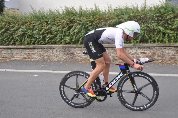 News Denis CHEVROT : Vainqueur de l'Emeraude Tri Race‏