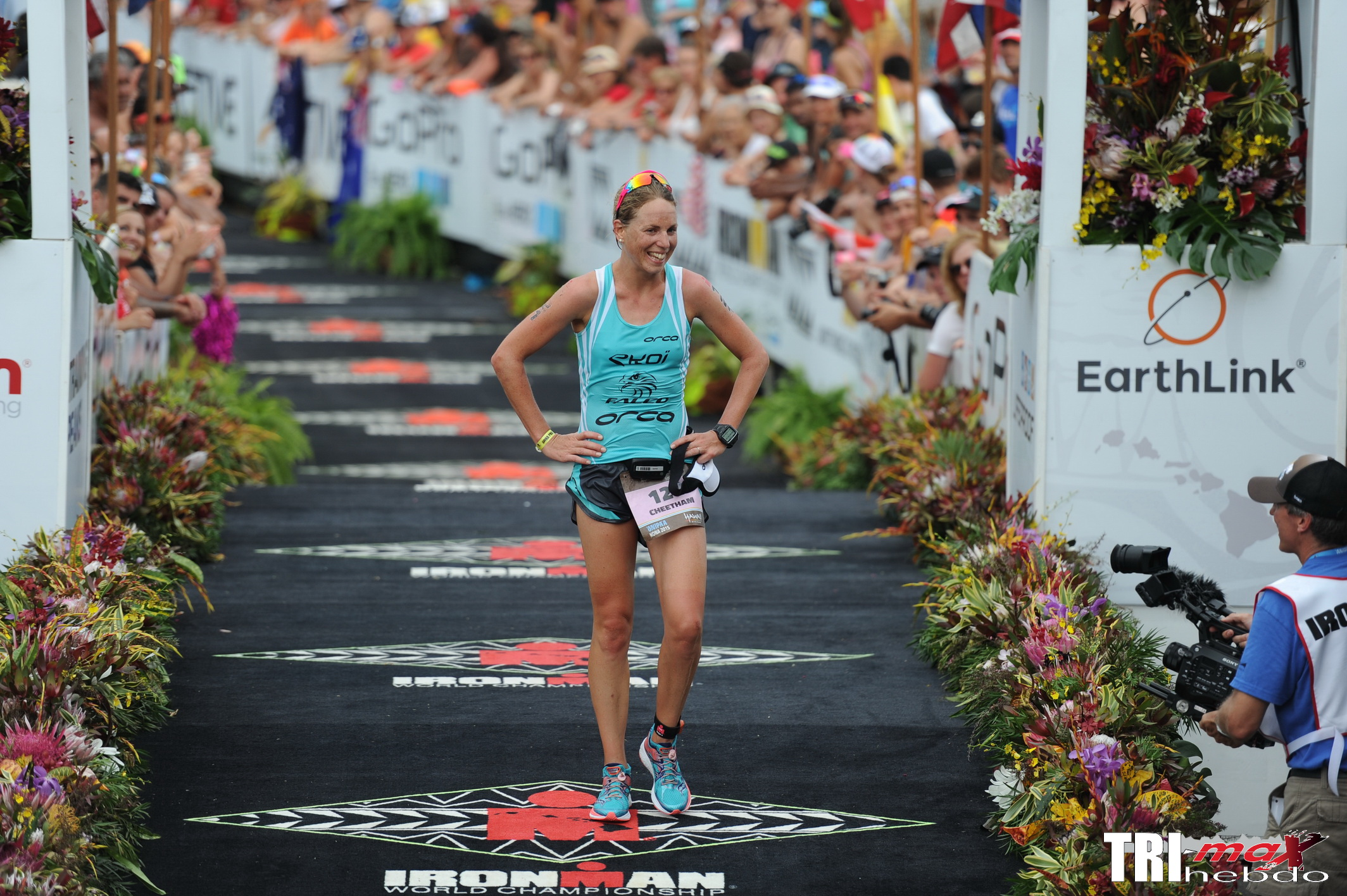 KONA 2015: Interview de Susie Cheetham (6ème)