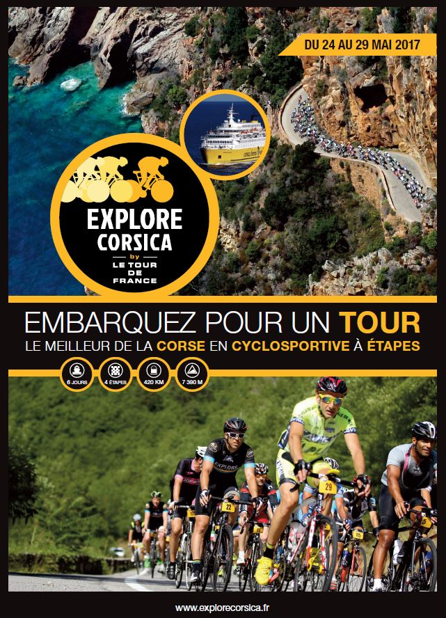 EXPLORE CORSICA BY LE TOUR DE FRANCE 24 au 29 mai 2017‏