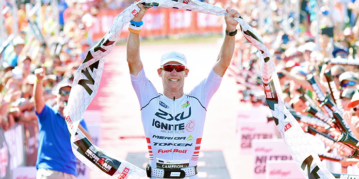 IRONMAN TAUPO: Cameron Brown indétrônable ! Viennot a fait le spectacle !