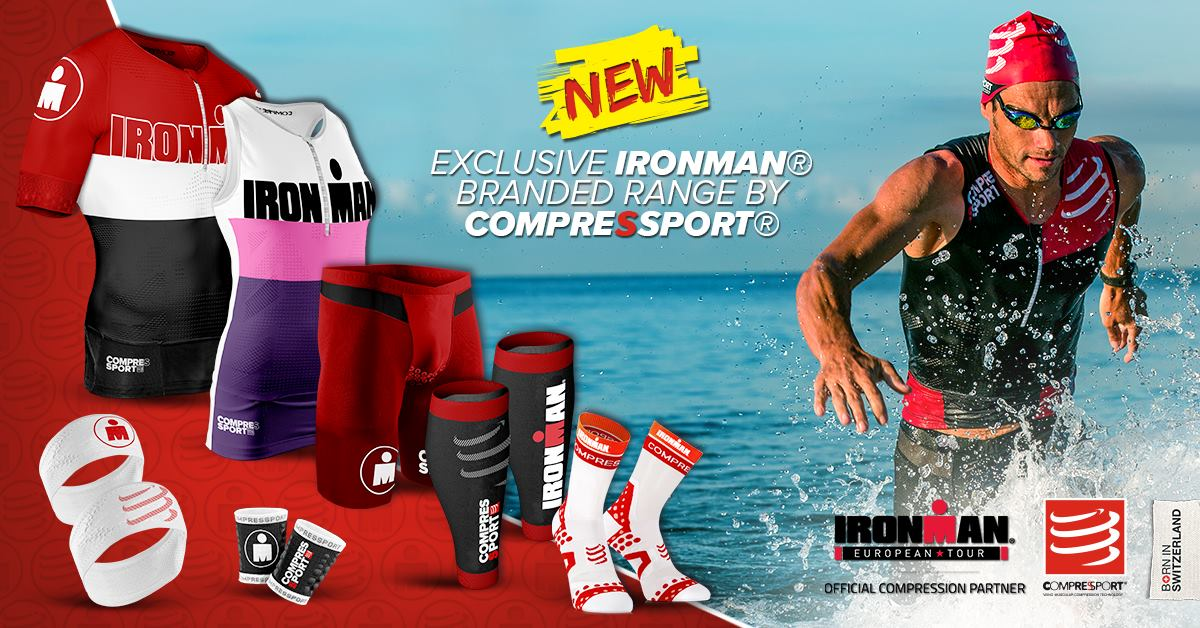 COMPRESSPORT aux couleurs IRONMAN