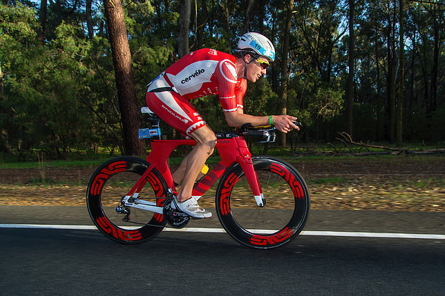 IRONMAN FRANCE : James Cunnama : « Faire abstraction des adversaires »‏