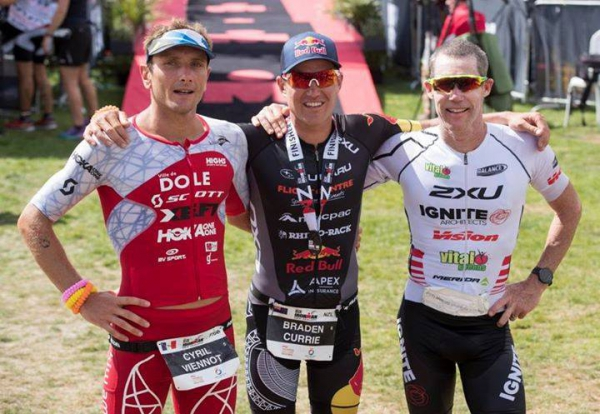News Cyril VIENNOT : IRONMAN New Zealand mission réussie dans la douleur !