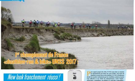 A lire dans TrimaX #163 : 1er championnat de France «duathlon-run & bike» UNSS 2017