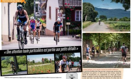A lire dans TrimaX#165 le triathlon d'Obernai-Benfeld