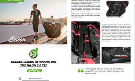 TrimaX#171 a testé la housse Scicon aerocomfort triathlon 3.0 TSA
