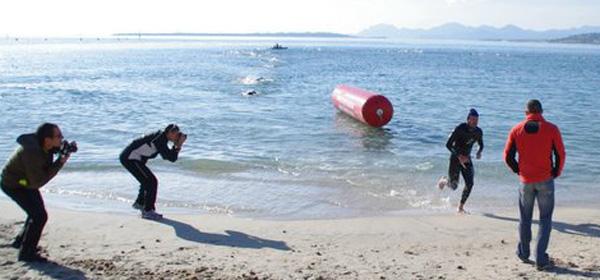 Le Triathlon de la Saint-Sylvestre à Antibes a eu froid …