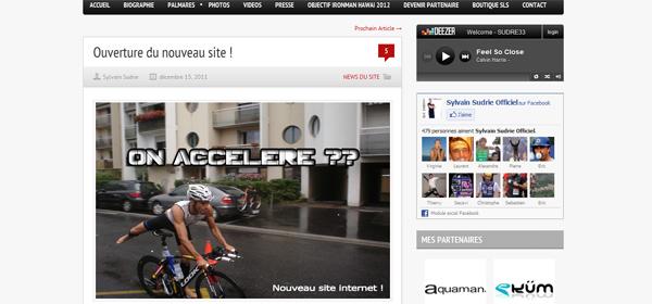 Sylvain Sudrie, cap sur Kona et nouveau site