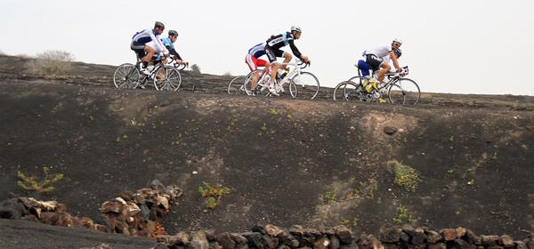 Avec l'équipe de France en stage à Lanzarote