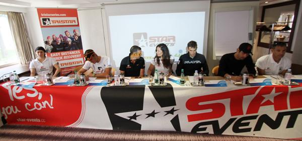 Conférence de presse TriStar de Cannes