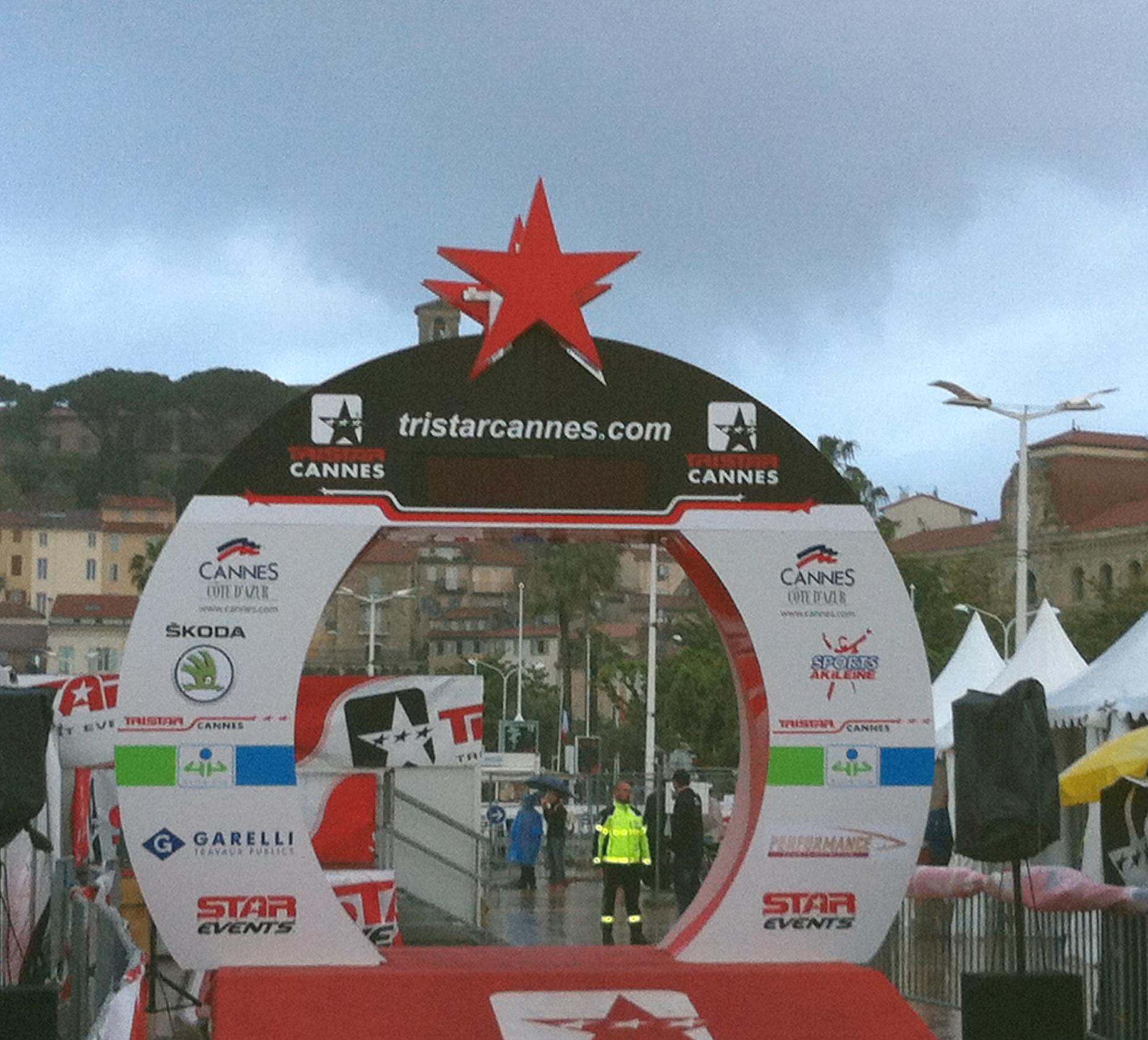 LIVE TriStar de Cannes, la pluie s'invite…