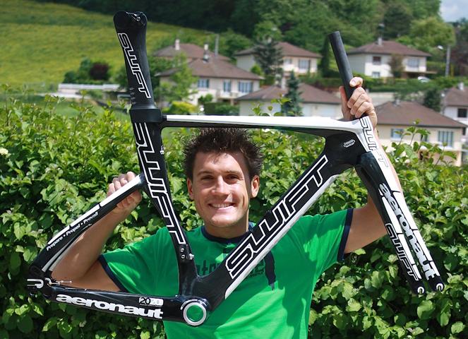 Romain GUILLAUME rejoint la marque SWIFT