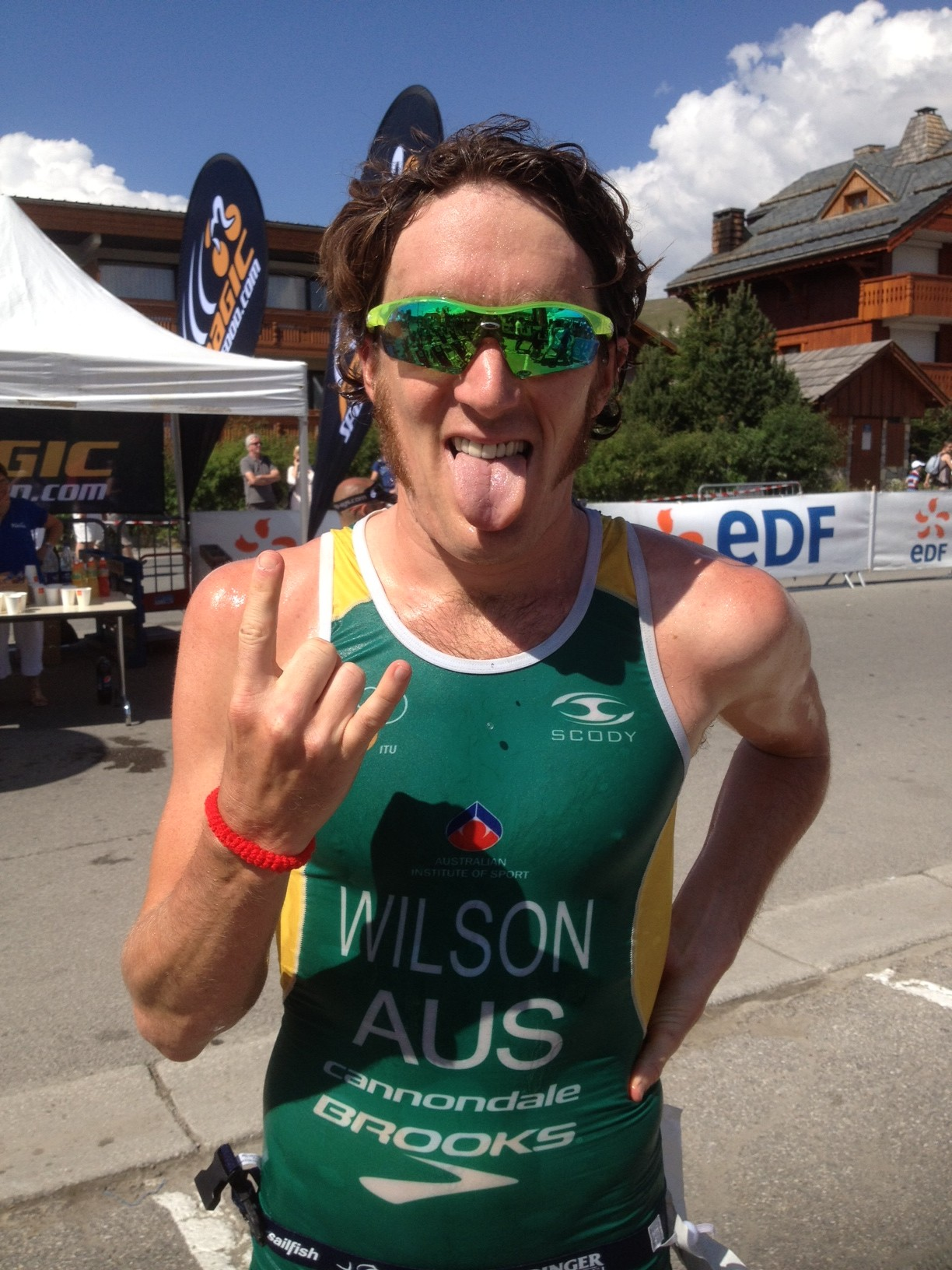 CD de l'Alpe d'Huez : la victoire pour Wilson et Morel