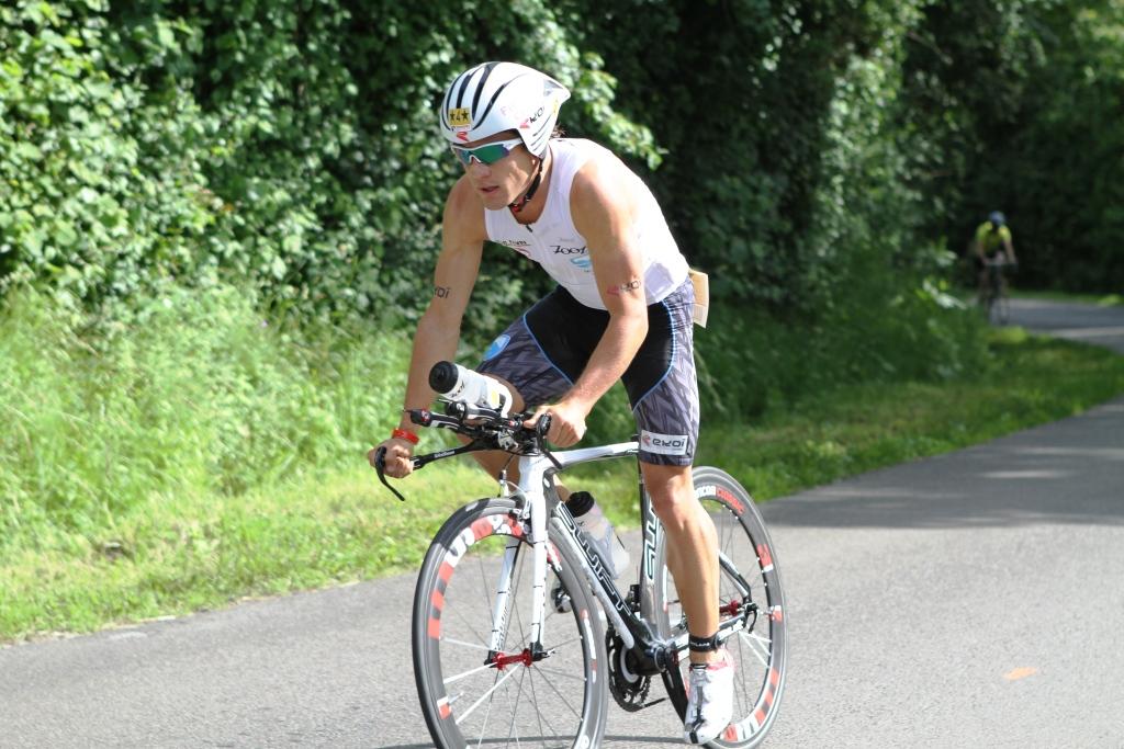 Romain Guillaume signe sa première victoire sur Ironman