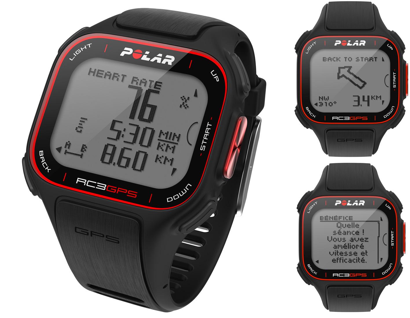 POLAR, découvrir le modèle RC3 GPS