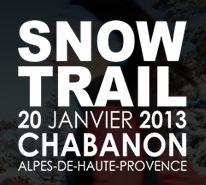 Snow trail de Chabanon : demandez le programme !