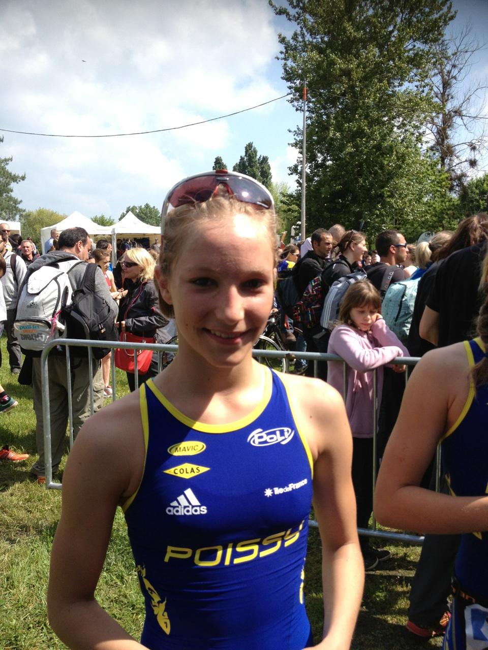 En direct des championnats de France jeunes :Marine Vetillard, championne de France minime