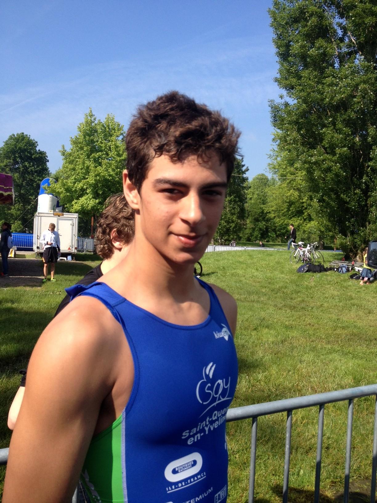 En direct des championnats de France jeunes :  Alan Brachet, champion de France minime