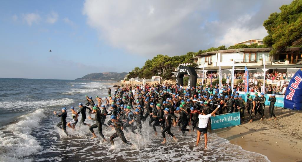Triathlon de Forte Village, plein les yeux !!!!
