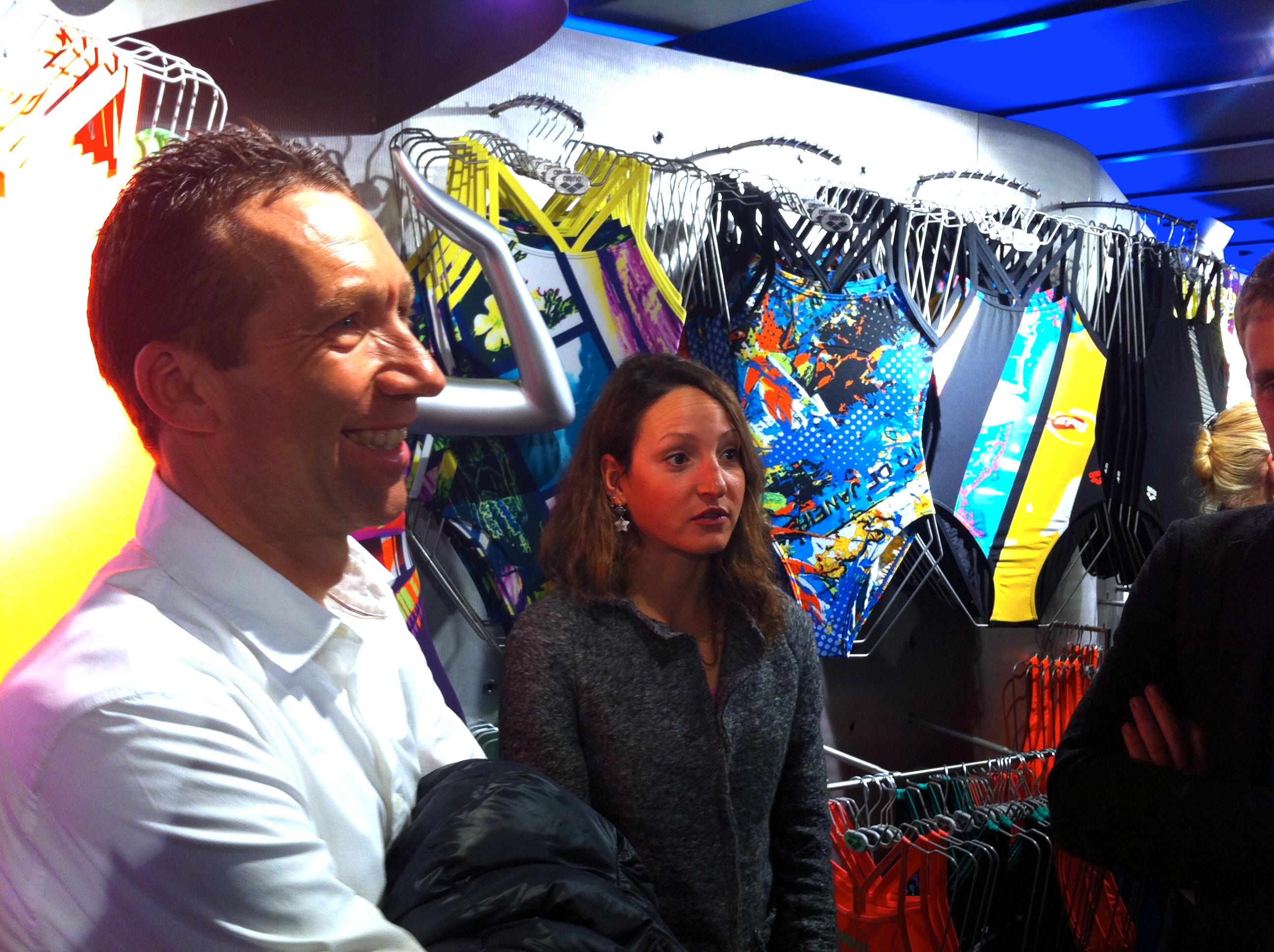 Ouverture du Arena Shop de Paris Bercy