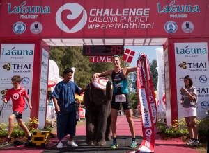 Rasmus Petraeus au départ du Challenge Rimini 2014