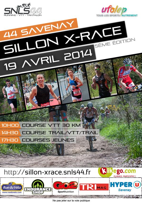 5ème SILLON X-Race rendez vous le 19 avril