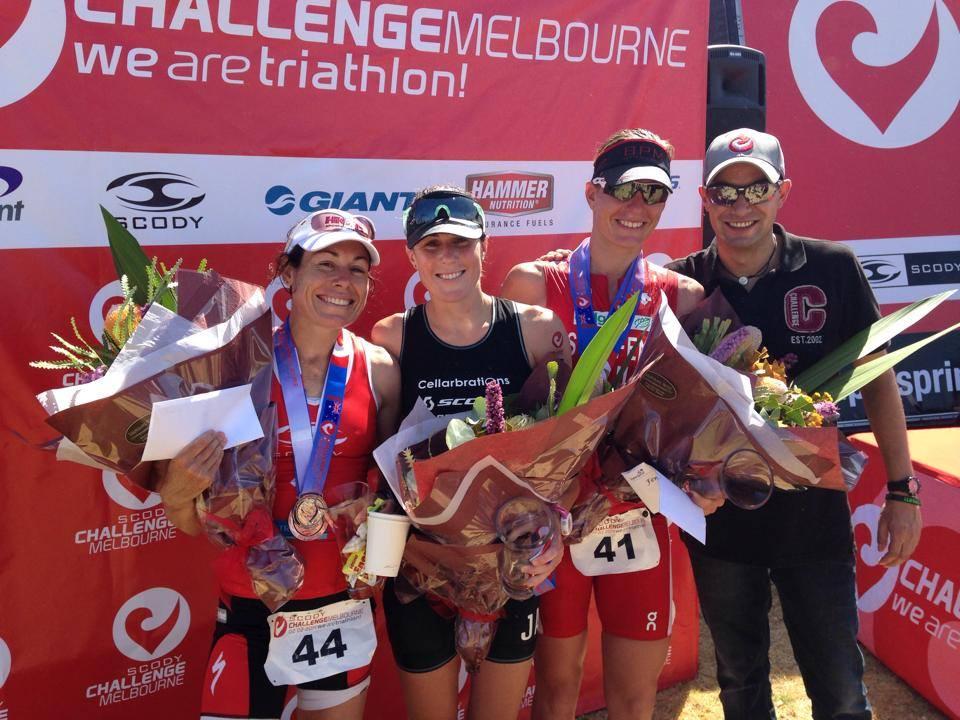 Le 1er Challenge Melbourne à Van Berkel et Luxford