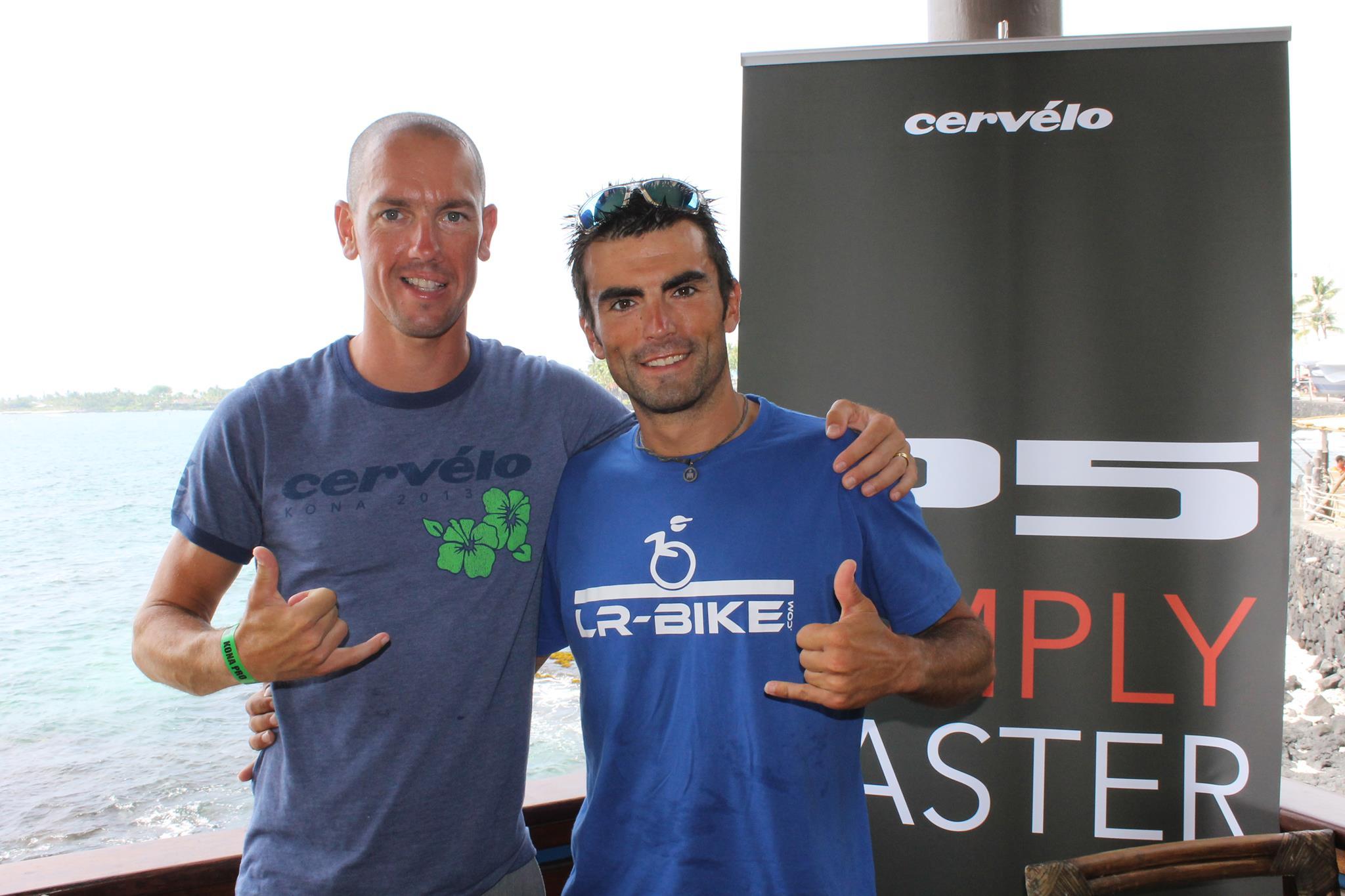 Frédéric Limousin au départ de l'Ironman 70.3 Panama en PRO