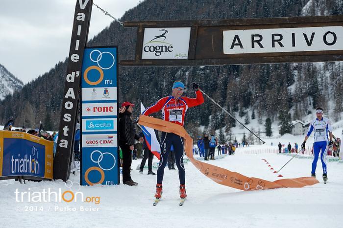Championnat du Monde Triathlon des neiges en images