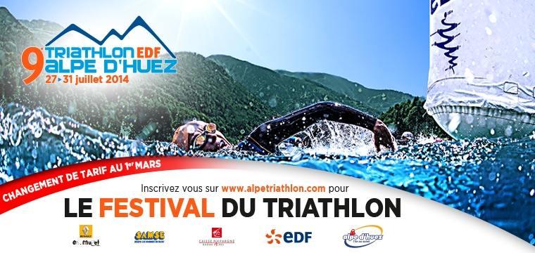 Triathlon de l'Alpe d'Huez: Changement de tarif le 1er Mars