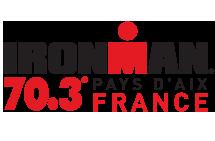 Jeanne Collonge au départ du 70.3 d'Aix