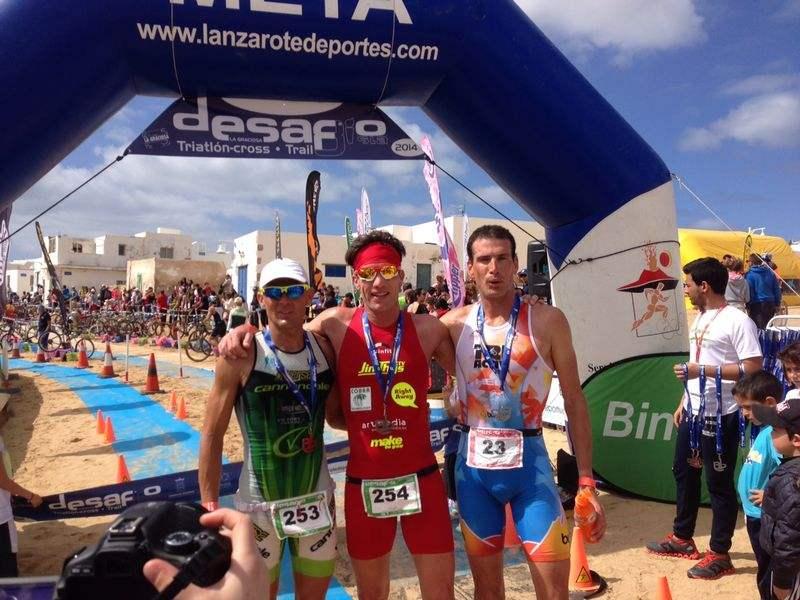 Triathlon Cross de Lanzarote : Victoire de Thijs