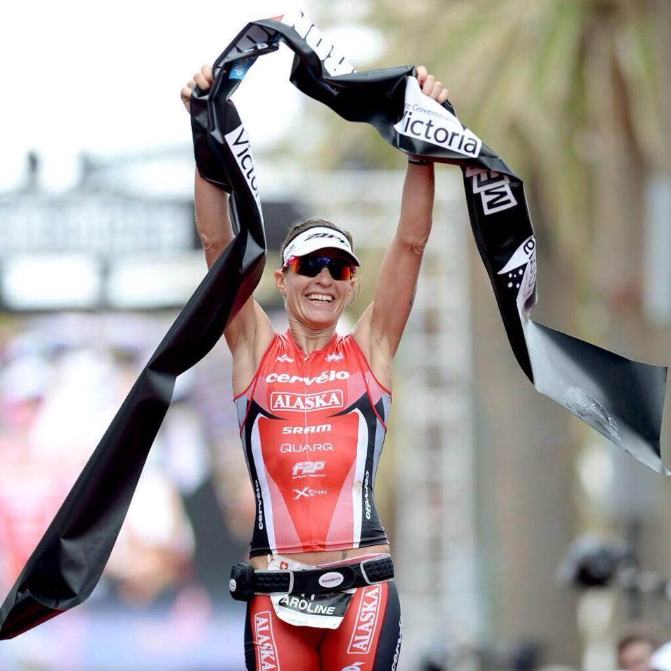 Ironman Melbourne: Caroline Steffen presque à domicile !