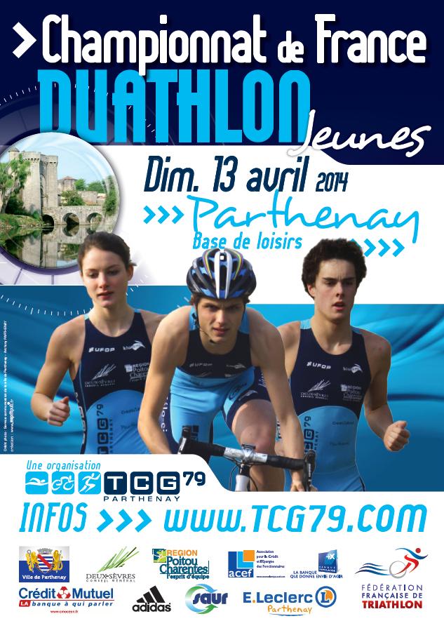 Championnat de France de Duathlon Jeunes 2014