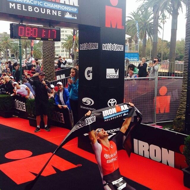 Ironman Melbourne: Bockel is back !