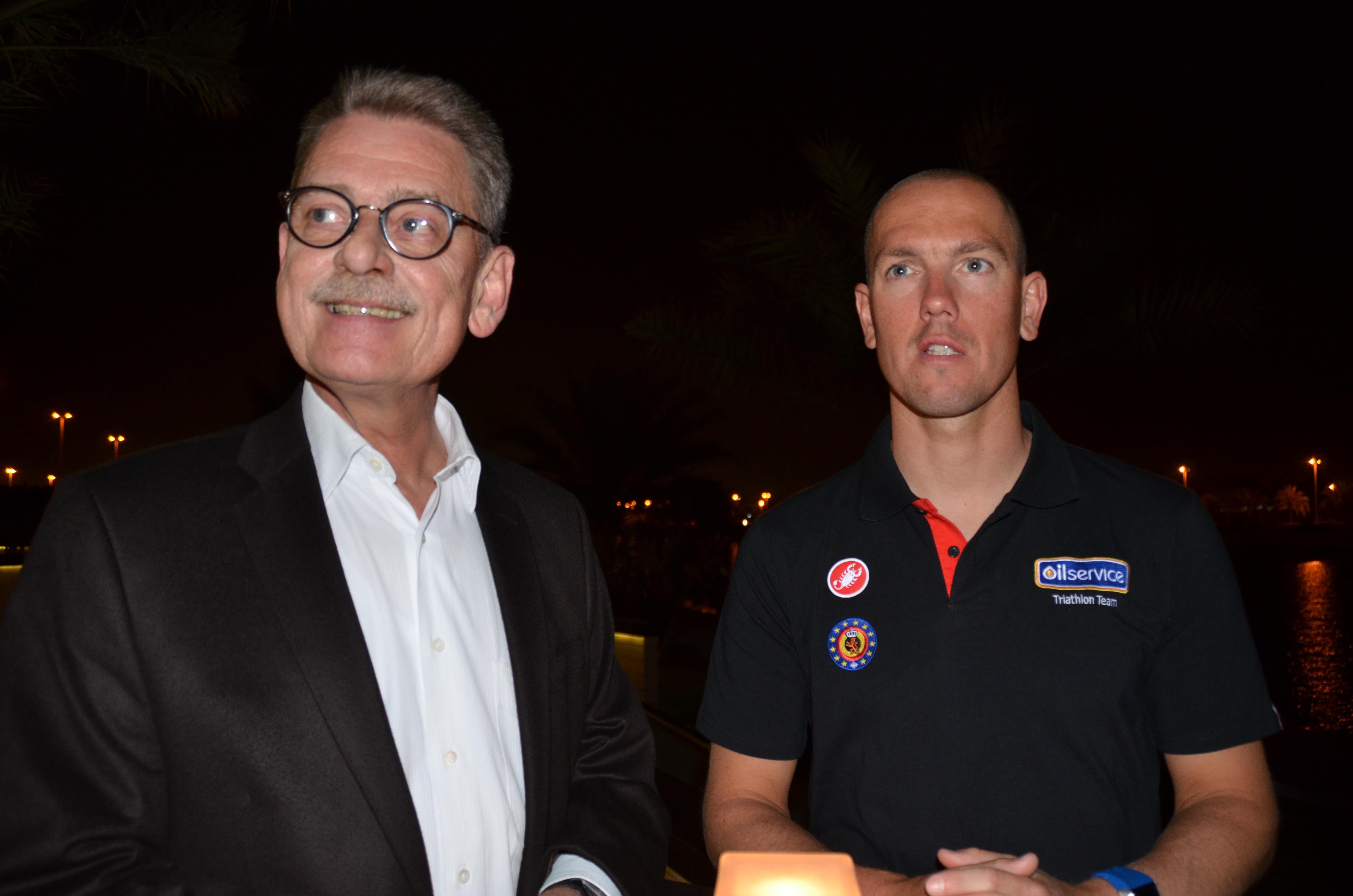 Abu Dhabi Triathlon: Interview de Frederik Van Lierde