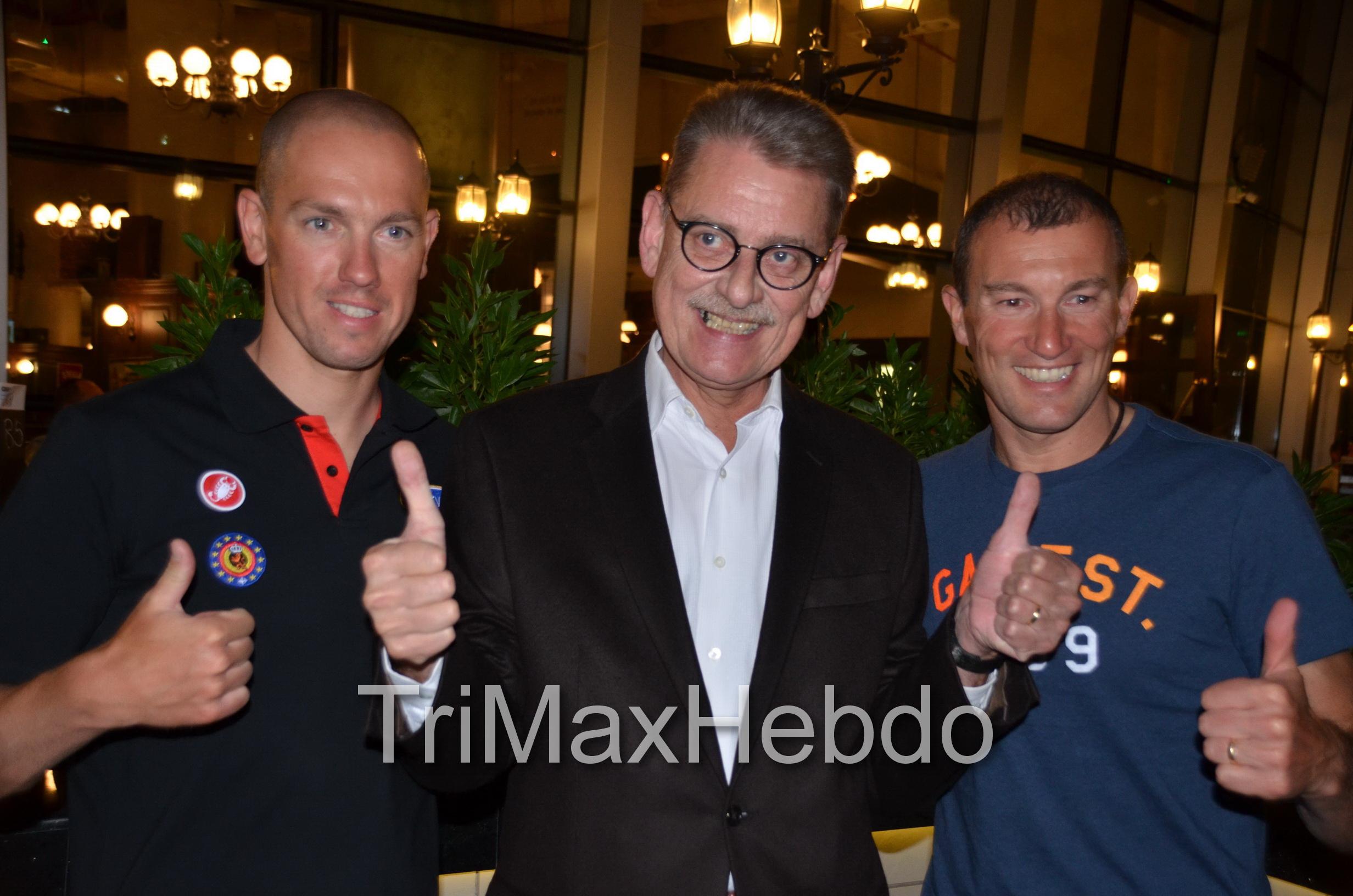 Abu Dhabi Triathlon: Interview Luc Van Lierde