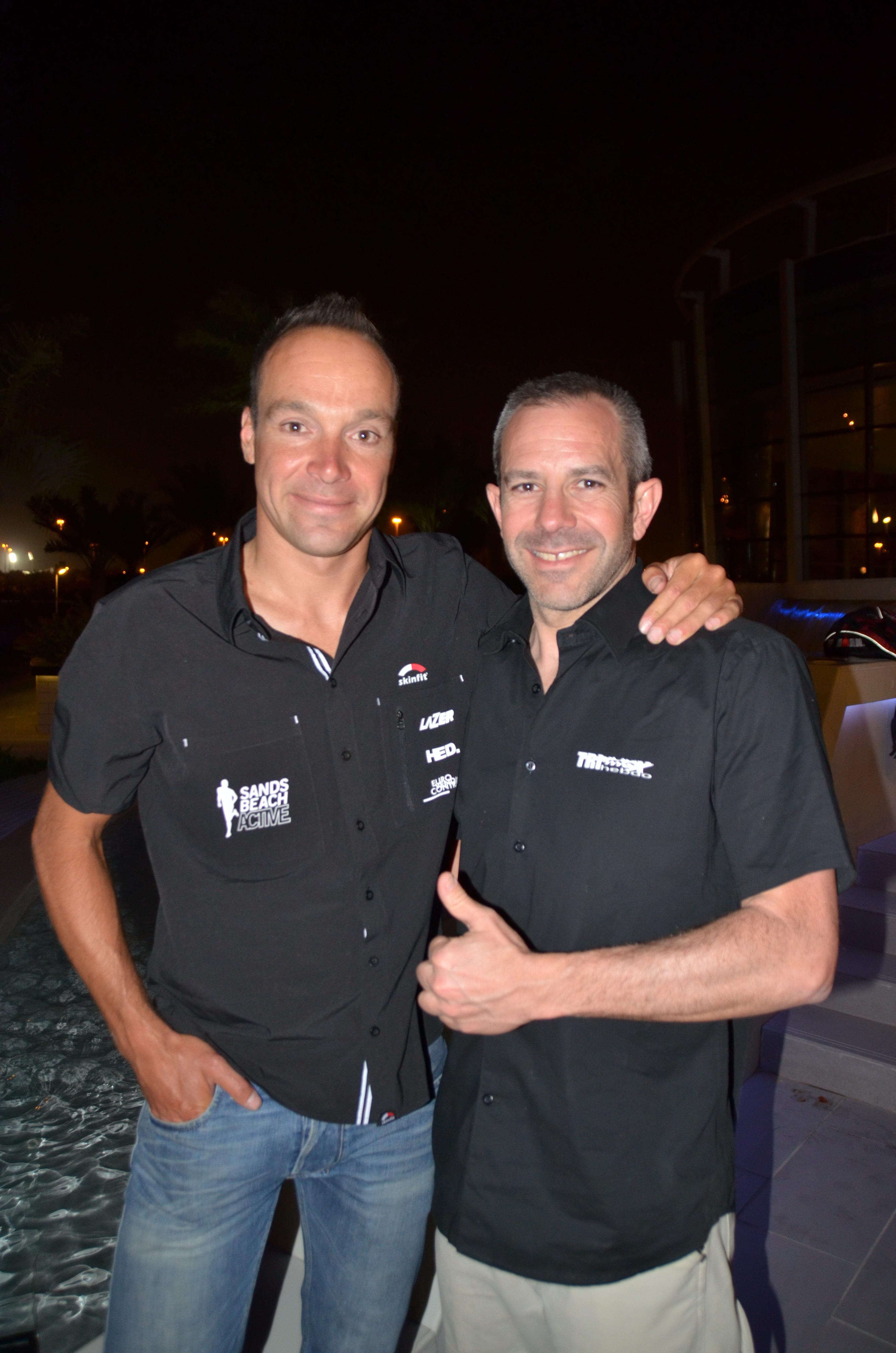 Abu Dhabi Triathlon: Interview Bert Jammaer