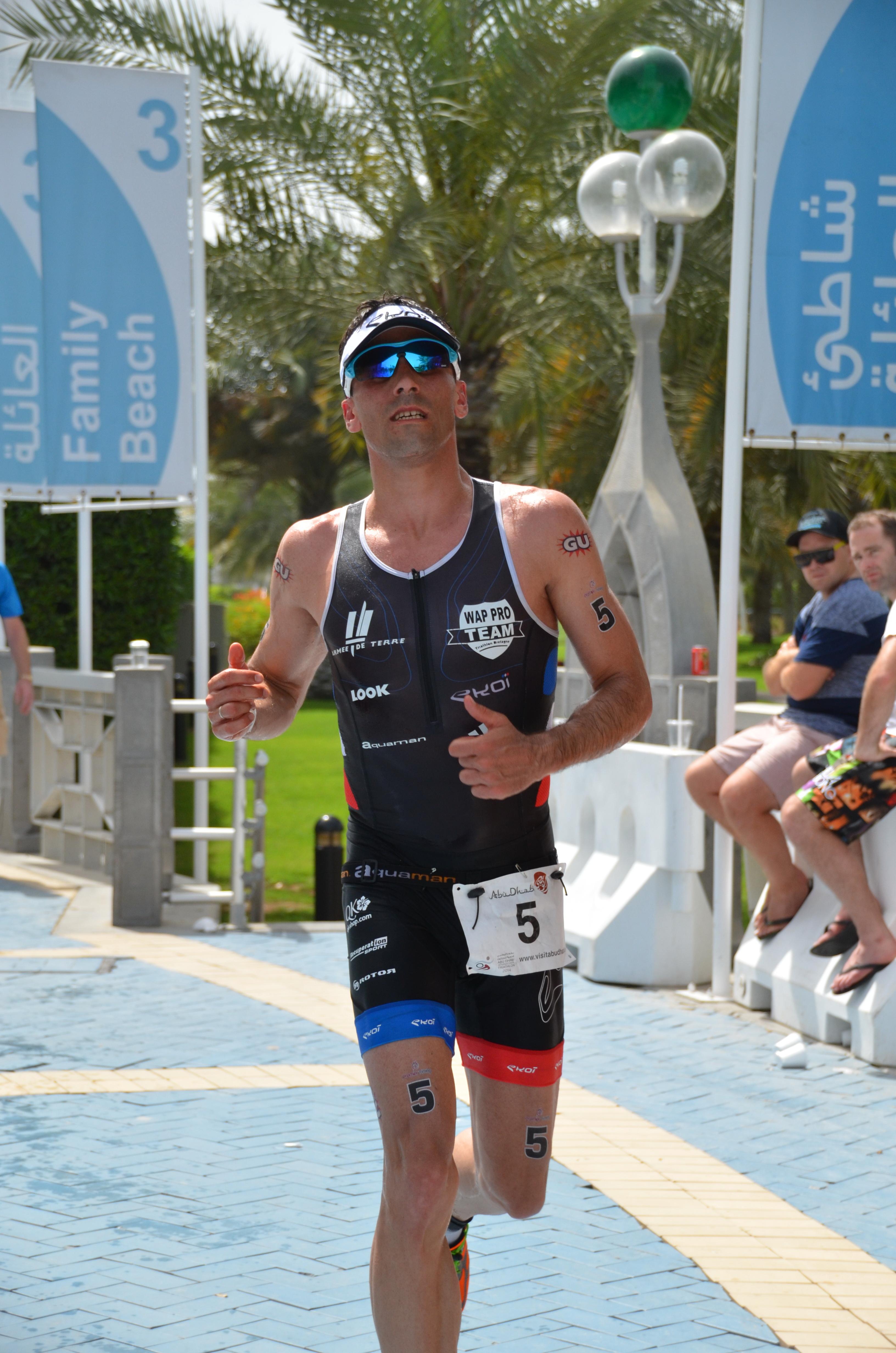 Abu Dhabi Triathlon: l'interview de Sylvain Sudrie après la course