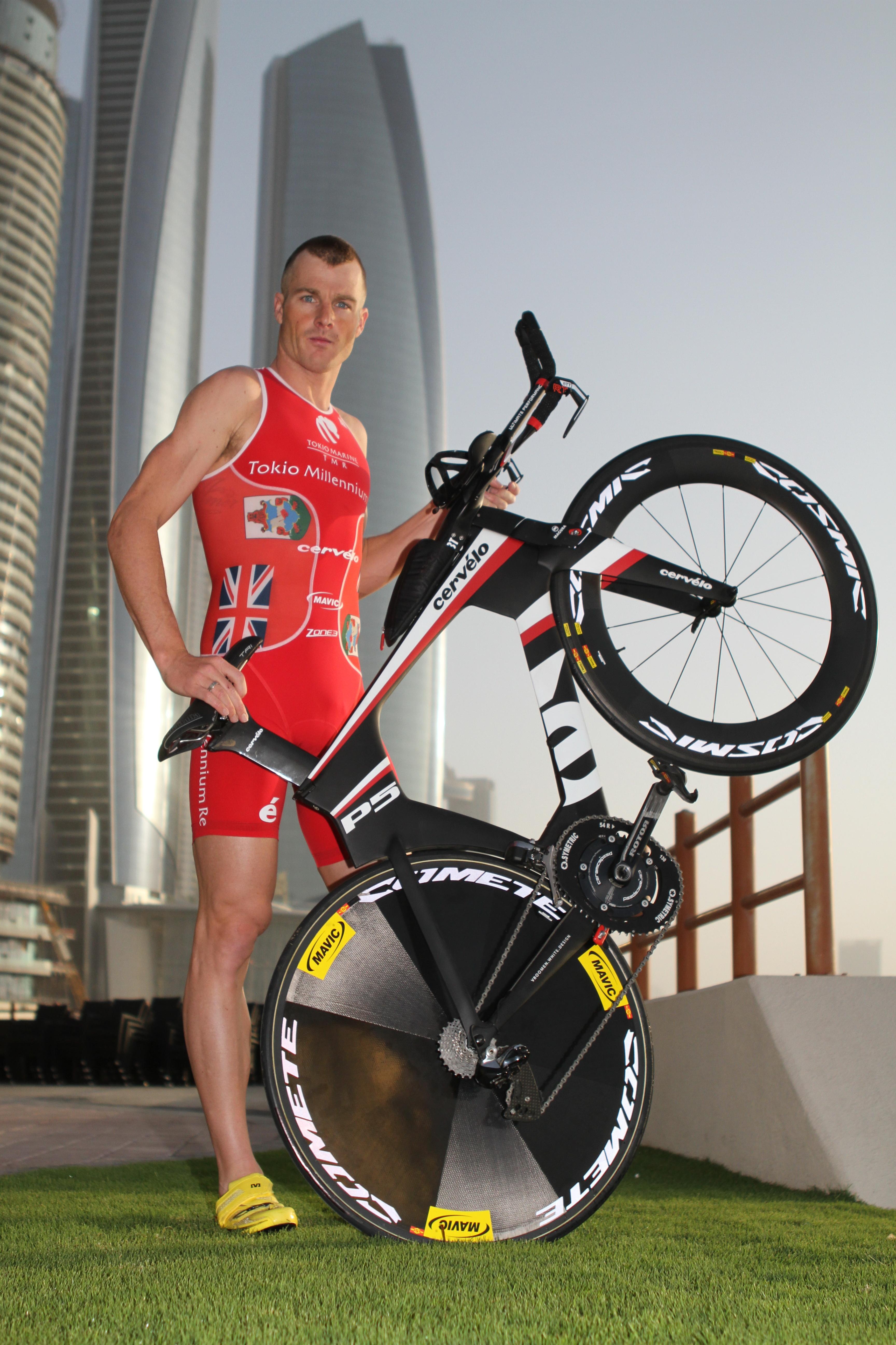 Abu Dhabi Triathlon: Interview Tyler Butterfield