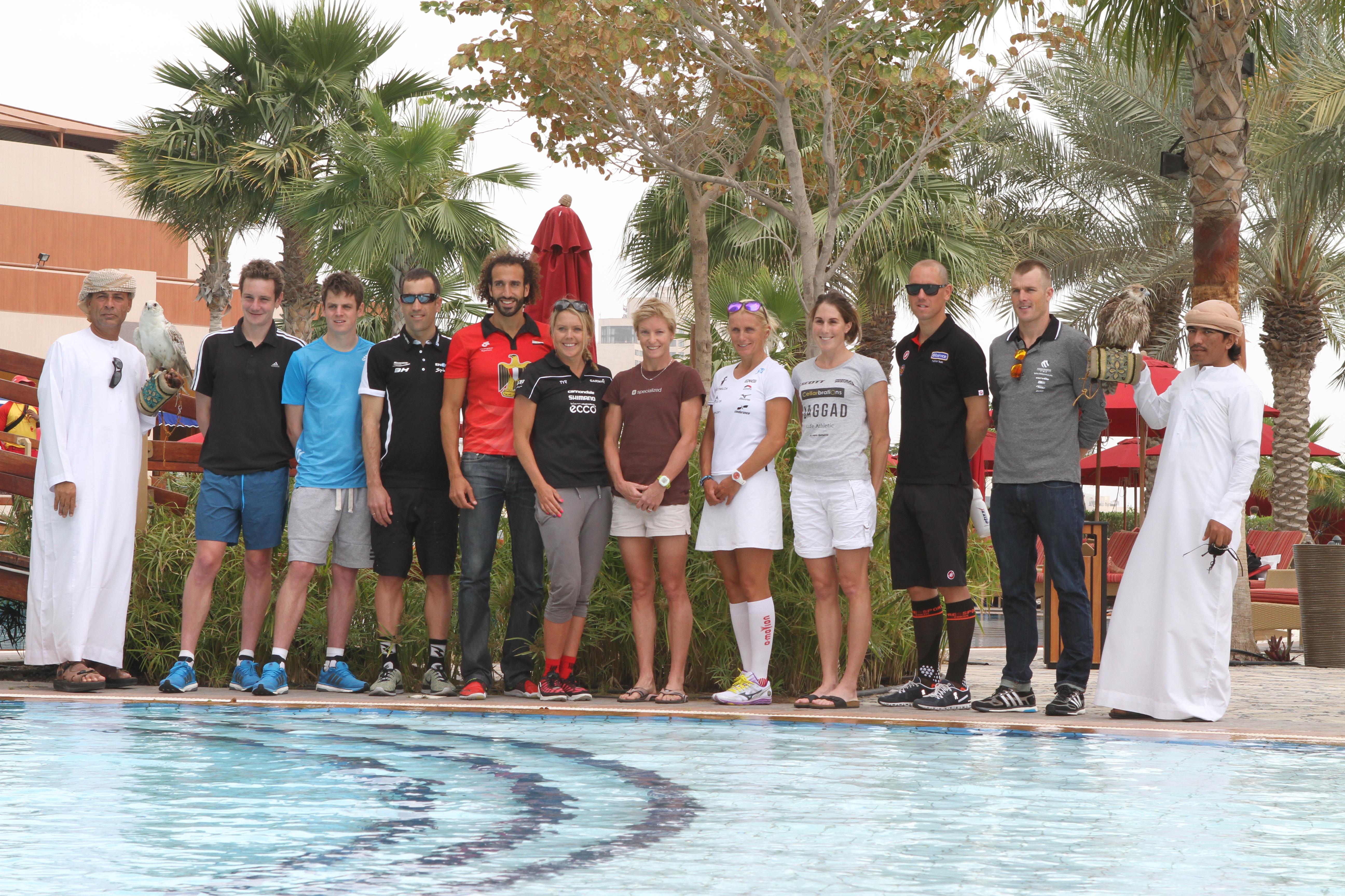 Suivez le LIVE du Triathlon International d'Abu Dhabi